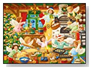 Angelic Bakery 100 Pieces Christmas Puzzle