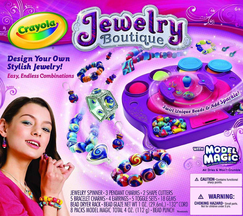 3. Crayola Model Magic Jewelry Studio:
