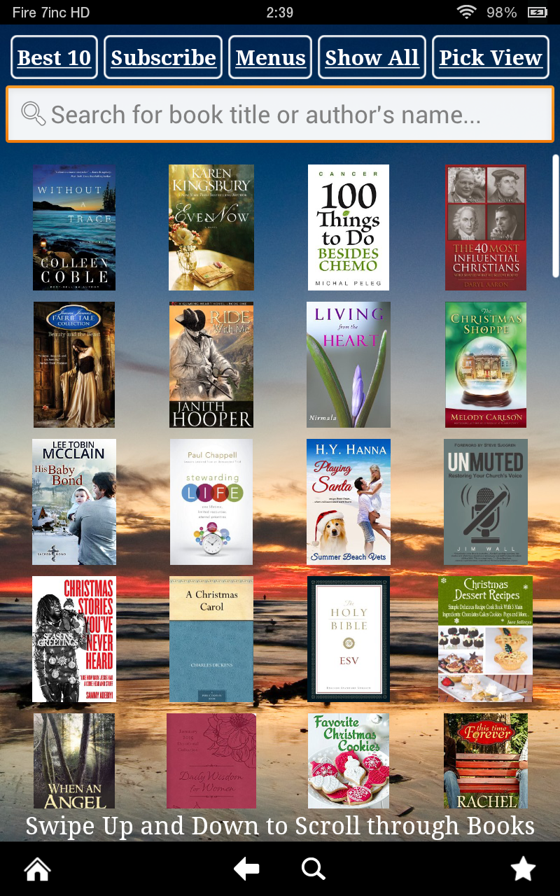 Popular Free Kindle Fire Books