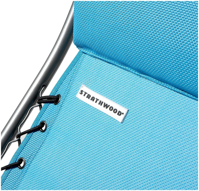 Strathwood Basics Anti-Gravity Adjustable Recliners Polyester Fabric