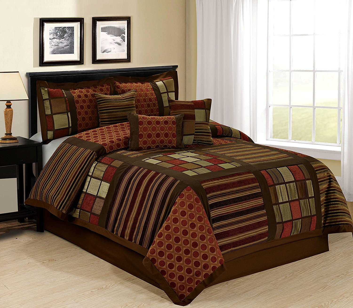 Maroon And Black Bedding Sets Ease Bedding With Style