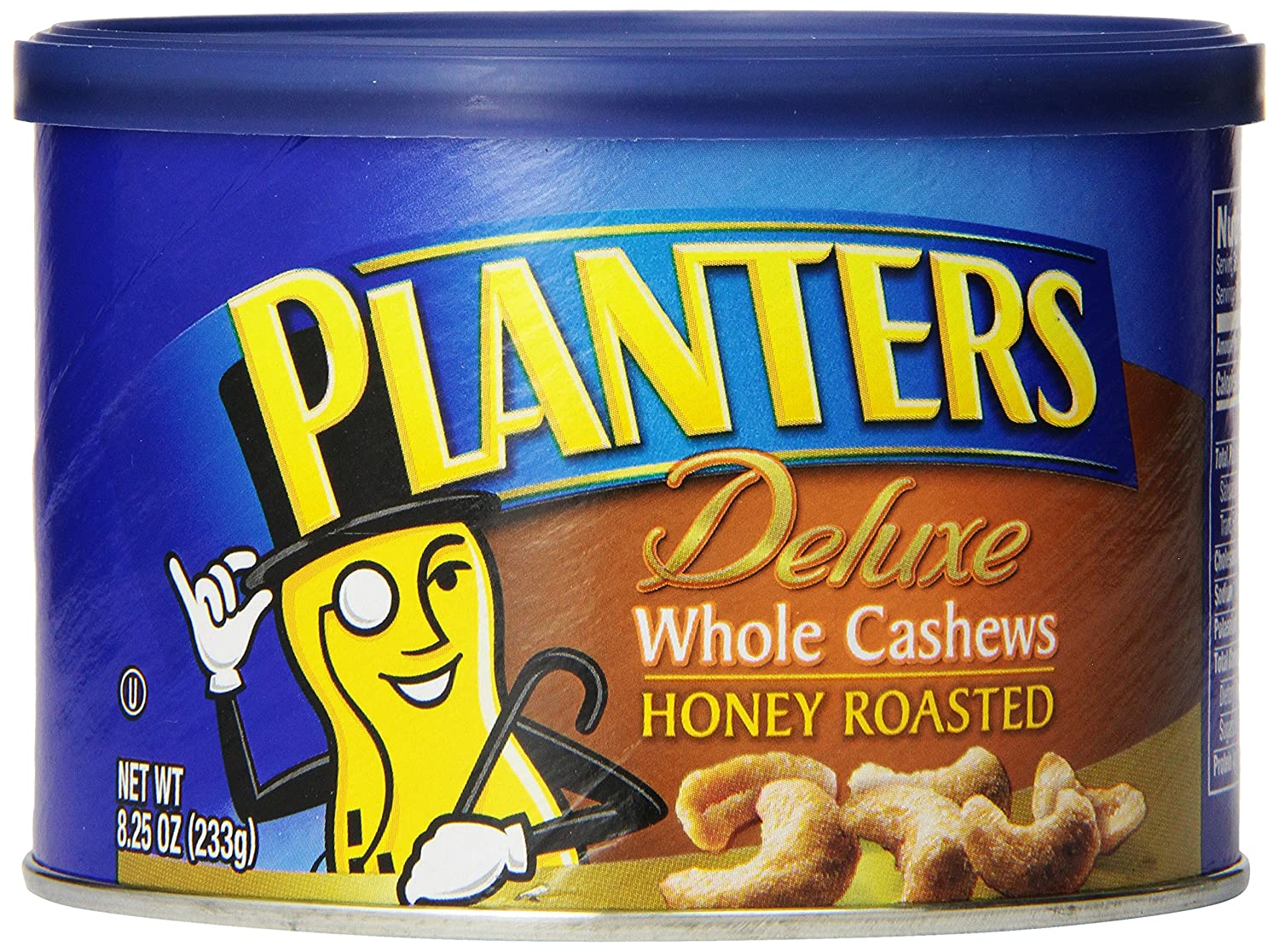 Planters Deluxe Whole Cashews Honey Roasted, 8.25 oz. (Count of 3)