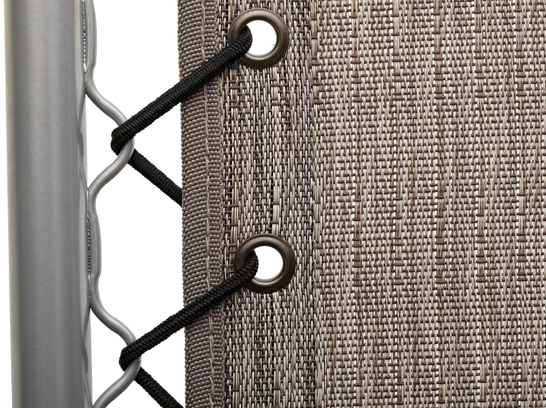 Strathwood Basics Anti-Gravity Adjustable Recliners Bungee cord suspension
