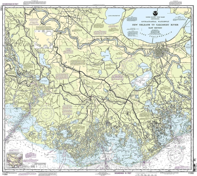 NOAA Chart St Helena Sound to Savannah River 27th Edition 11513