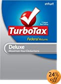TurboTax Deluxe Federal + E-file 2011 for PC [Download]