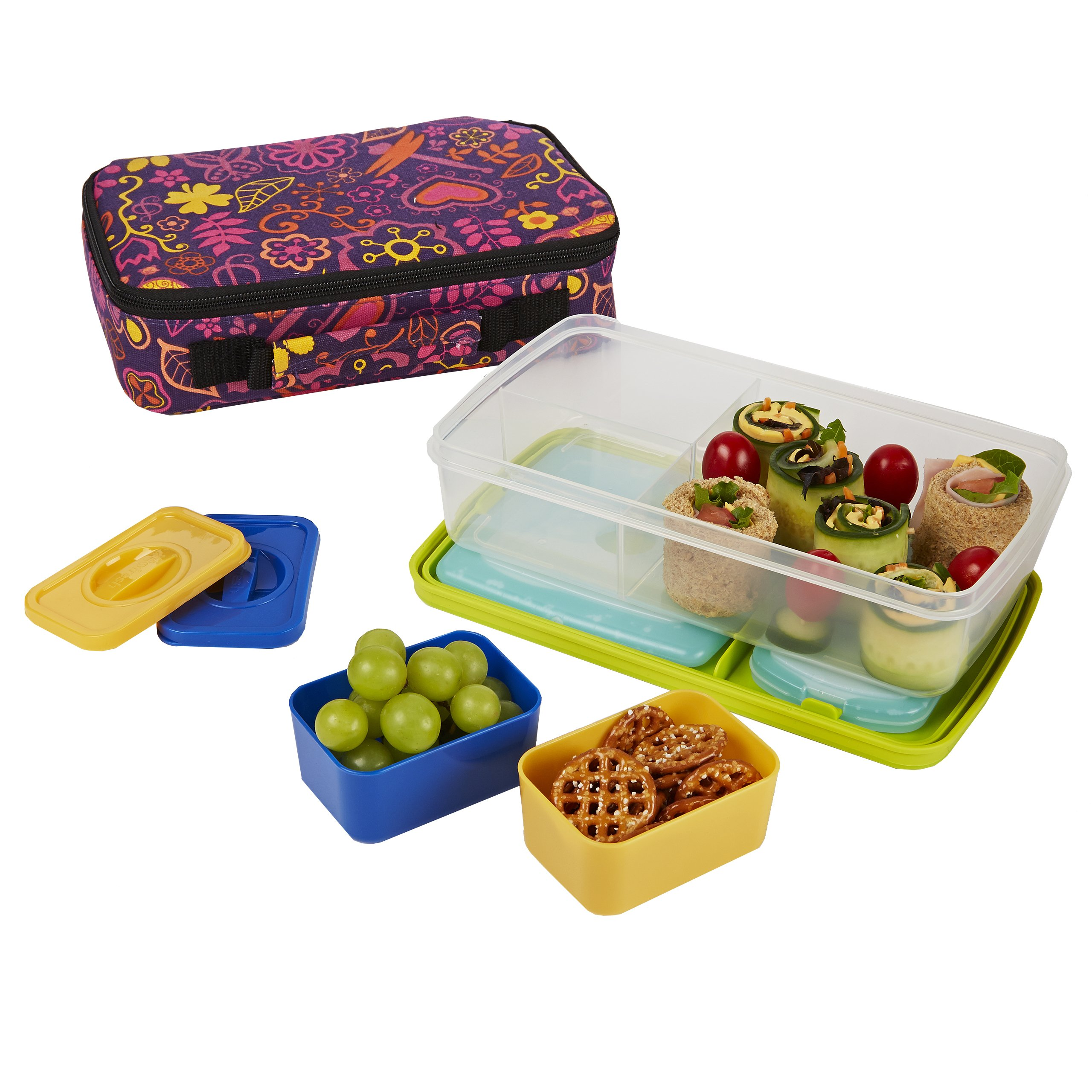 lunch boxes for adults fit fresh insulated bento box lunch bag kit with carry 31342